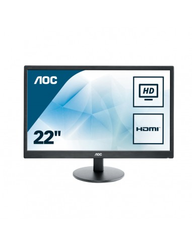 "AOC Basic-line E2270SWHN LED display 54.6 cm (21.5"") 1920 x 1080 pikseliä Full HD Musta Aoc International E2270SWHN - 1"