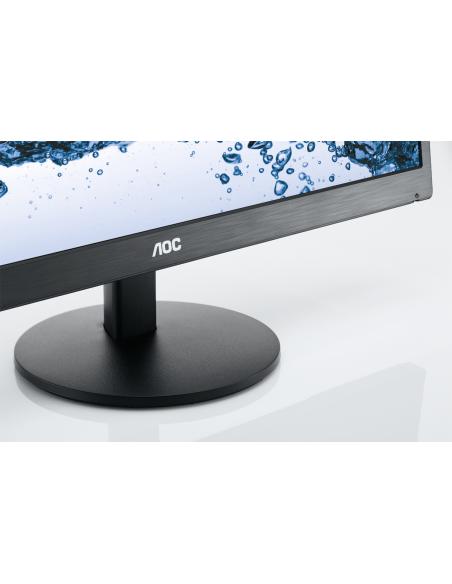 "AOC Basic-line E2270SWHN LED display 54.6 cm (21.5"") 1920 x 1080 pikseliä Full HD Musta Aoc International E2270SWHN - 13"