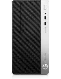 HP ProDesk 400 G6 9. sukupolven Intel® Core™ i5 i5-9500 8 GB DDR4-SDRAM 256 SSD Mikro-torni Musta PC Windows 10 Pro Hp 7EM13EA#A