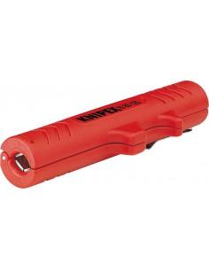 Knipex 16 80 125 SB kaapelinkuorija Punainen Knipex 16 80 125 SB - 1