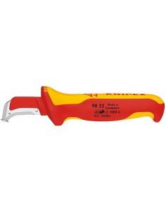 Knipex 98 55 yleisveitsi Kiinteä veitsen terä Metallinen, Punainen, Keltainen Knipex 98 55 - 1