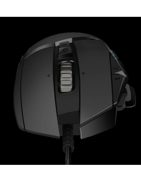 Logitech G502 Hero hiiri USB A-tyyppi Optinen 16000 DPI Oikeakätinen Logitech 910-005470 - 3