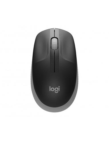 Logitech M190 Full-size Wireless Mouse Wrls Mid Grey Emea In Logitech 910-005906 - 1