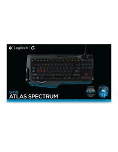 Logitech G G410 Atlas Spectrum näppäimistö USB QWERTZ Saksa Musta Logitech 920-007748 - 1