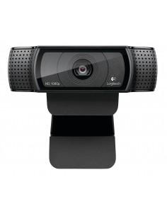 Logitech C920 verkkokamera 15 MP 1920 x 1080 pikseliä USB 2.0 Musta Logitech 960-001055 - 1