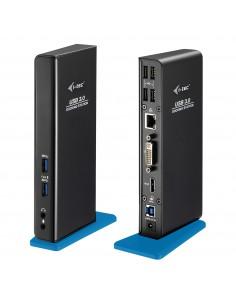 i-tec U3HDMIDVIDOCK kannettavien tietokoneiden telakka ja porttitoistin Telakointi USB 3.0 (3.1 Gen 1) Type-A Musta Sonstige U3H