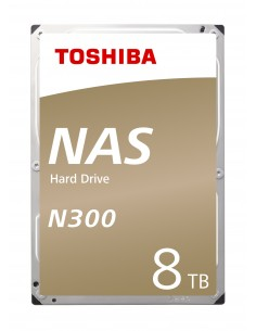 "Toshiba N300 3.5"" 8000 GB Serial ATA III Toshiba HDWN180EZSTA - 1"