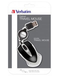 Verbatim Go Mini hiiri USB Optinen 1000 DPI Molempikätinen Verbatim 49020 - 1