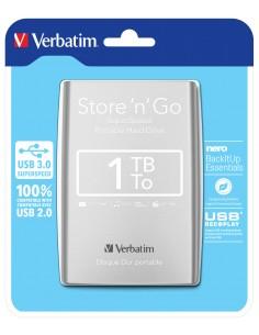 Verbatim Store 'n' Go ulkoinen kovalevy 1000 GB Hopea Verbatim 53071 - 1