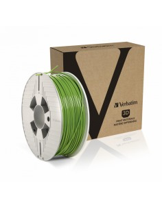 Verbatim 55334 3D-tulostusmateriaali Polymaitohappo (PLA) Vihreä 1 kg Verbatim 55334 - 1