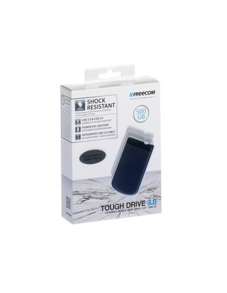 Freecom Tough Drive ulkoinen kovalevy 500 GB Harmaa Freecom 56058 - 4