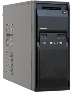 Chieftec LG-01B-OP tietokonekotelo Midi Tower Musta Chieftec LG-01B-OP - 1