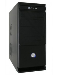 LC-Power 7010B+ MIDI-torni Musta 350 W Lc Power LC-7010B+ - 1