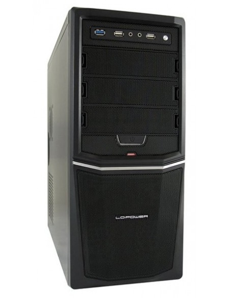 LC-Power Pro-924B Midi Tower Musta 420 W Lc Power LC-924B-ON - 1