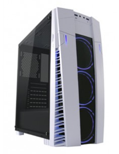 LC-Power Gaming 992W - Solar Flare Midi Tower Musta, Valkoinen Lc Power LC-992W-ON - 1