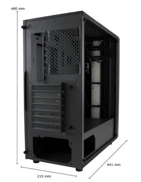 LC-Power Gaming 994B - Vitreous Midi Tower Musta Lc Power LC-994B-ON - 19