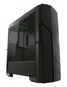 LC-Power Gaming 997B - Hypnos_X Midi Tower Musta, Läpinäkyvä Lc Power LC-997B-ON - 1