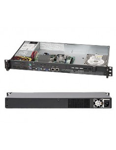 Supermicro SC503L-200B Ställning Svart 200 W Supermicro CSE-503L-200B - 1