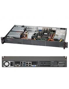 Supermicro SC504-203B Intel® C222 LGA 1150 (uttag H3) Supermicro CSE-504-203B - 1