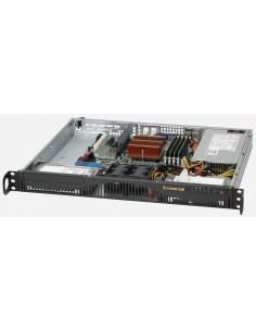 Supermicro CSE-512F-350B datorväskor Ställning Svart 350 W Supermicro CSE-512F-350B - 1