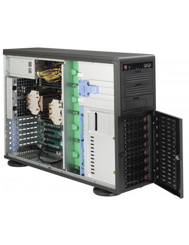 Supermicro SuperChassis 743AC-1200B-SQ Full Tower Musta 1200 W Supermicro CSE-743AC-1200B-SQ - 1