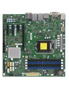 Supermicro X11SCQ palvelimen/työaseman emolevy Intel Q370 LGA 1151 (pistoke H4) mikro ATX Supermicro MBD-X11SCQ - 1