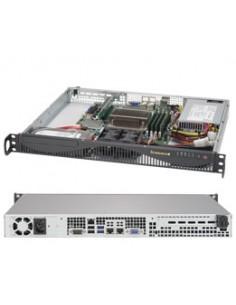 Supermicro 5019S-ML Intel® C236 LGA 1151 (pistoke H4) Teline ( 1U ) Musta Supermicro SYS-5019S-ML - 1
