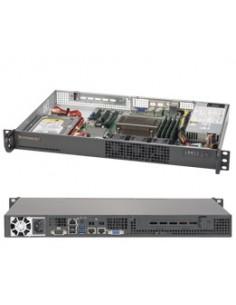 Supermicro 5019S-L Intel® C232 LGA 1151 (Socket H4) Rack (1U) Black Supermicro SYS-5019S-L - 1
