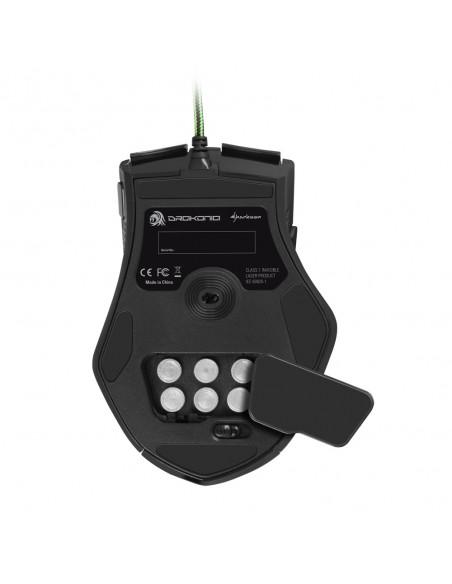 Sharkoon Drakonia hiiri USB A-tyyppi Laser 5000 DPI Oikeakätinen Sharkoon Technologies Gmbh 4044951012527 - 5