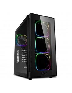Sharkoon TG6 RGB Midi Tower Musta Sharkoon Technologies Gmbh 4044951028221 - 1