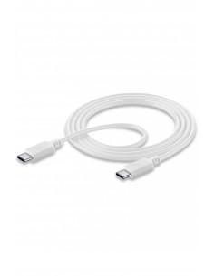 Cellularline USBDATACUSBC-CW USB-kaapeli 1.2 m USB C Valkoinen Cellularline USBDATACUSBC-CW - 1