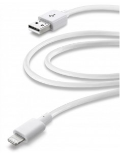 Cellularline USBDATAMFIIPH3MW Lightning-kaapeli 3 m Valkoinen Cellularline USBDATAMFIIPH3MW - 1