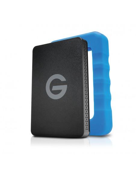 G-Technology G-DRIVE ev RaW ulkoinen kovalevy 500 GB Musta, Sininen G-technology 0G04106 - 1
