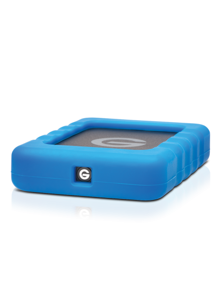 G-Technology G-DRIVE ev RaW ulkoinen kovalevy 500 GB Musta, Sininen G-technology 0G04106 - 5
