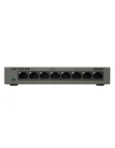 Netgear GS308 Unmanaged Gigabit Ethernet (10/100/1000) Grey Netgear GS308-100PES - 1