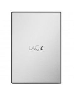 LaCie STHY1000800 ulkoinen kovalevy 1000 GB Musta, Hopea Lacie STHY1000800 - 1