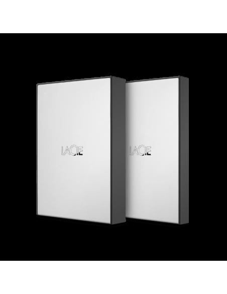 LaCie STHY1000800 ulkoinen kovalevy 1000 GB Musta, Hopea Lacie STHY1000800 - 2