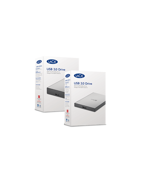 LaCie STHY1000800 ulkoinen kovalevy 1000 GB Musta, Hopea Lacie STHY1000800 - 3