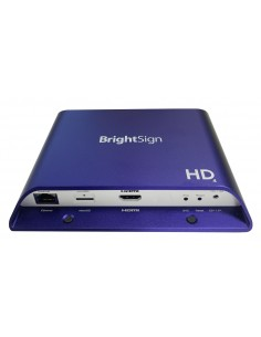 BrightSign HD224 digitaalinen mediasoitin Full HD 3840 x 2160 pikseliä 1.0 kanavaa Violetti Brightsign HD224 - 1
