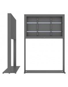 """SMS Smart Media Solutions 49L Casing Freestand Basic G1 DG 124.5 cm (49"""") Grå Sms Smart Media Solutions 702-005-21 - 1"""