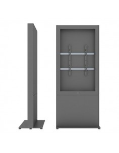 """SMS Smart Media Solutions 43P Casing Freestand Storage G1 DG 109.2 cm (43"""") Grå Sms Smart Media Solutions 702-007-21 - 1"""
