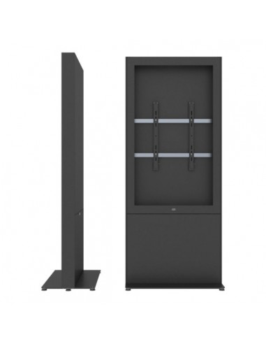 """SMS Smart Media Solutions 49P Casing Freestand Storage G1 BL 124.5 cm (49"""") Black Sms Smart Media Solutions 702-008-11 - 1"""
