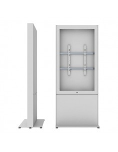"""SMS Smart Media Solutions 49P Casing Freestand Storage G1 WH 124.5 cm (49"""") Vit Sms Smart Media Solutions 702-008-41 - 1"""