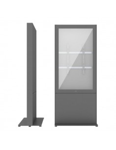 """SMS Smart Media Solutions 55P Casing Freestand Storage G2 DG 139.7 cm (55"""") Grey Sms Smart Media Solutions 702-009-22 - 1"""