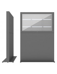 """SMS Smart Media Solutions 43L Casing Freestand Storage G2 DG 109.2 cm (43"""") Grey Sms Smart Media Solutions 702-010-22 - 1"""