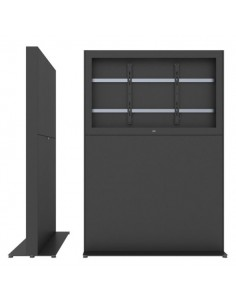 """SMS Smart Media Solutions 55L Casing Freestand Storage G1 BL 139.7 cm (55"""") Musta Sms Smart Media Solutions 702-012-11 - 1"""