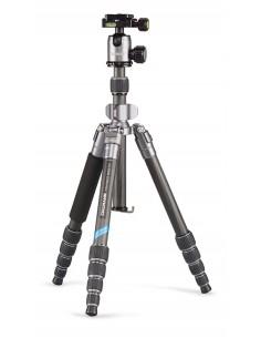 Cullmann Mundo 522TC kolmijalka Digitaalinen ja elokuva-kamerat 3 jalkoja Musta, Hopea Cullmann 55456 - 1