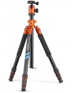 Cullmann Mundo 525M kolmijalka Digitaalinen ja elokuva-kamerat 3 jalkoja Musta, Oranssi Cullmann 55462 - 1