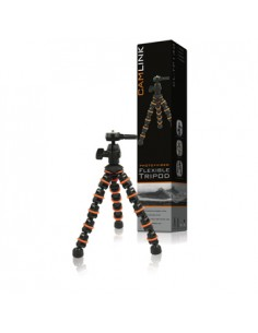 CamLink CL-TP140 kolmijalka Digitaalinen ja elokuva-kamerat 3 jalkoja Musta, Oranssi Camlink CL-TP140 - 1