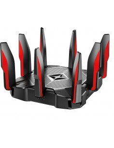 TP-LINK Archer C5400X langaton reititin Kolmikaista (2,4 GHz/5 GHz) Gigabitti Ethernet Musta, Punainen Tp-link ARCHER C5400X - 1